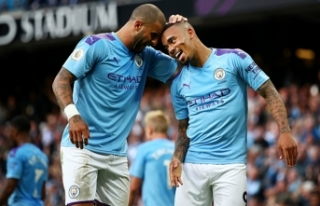 Manchester City'de Gabriel Jesus ve Kyle Walker...